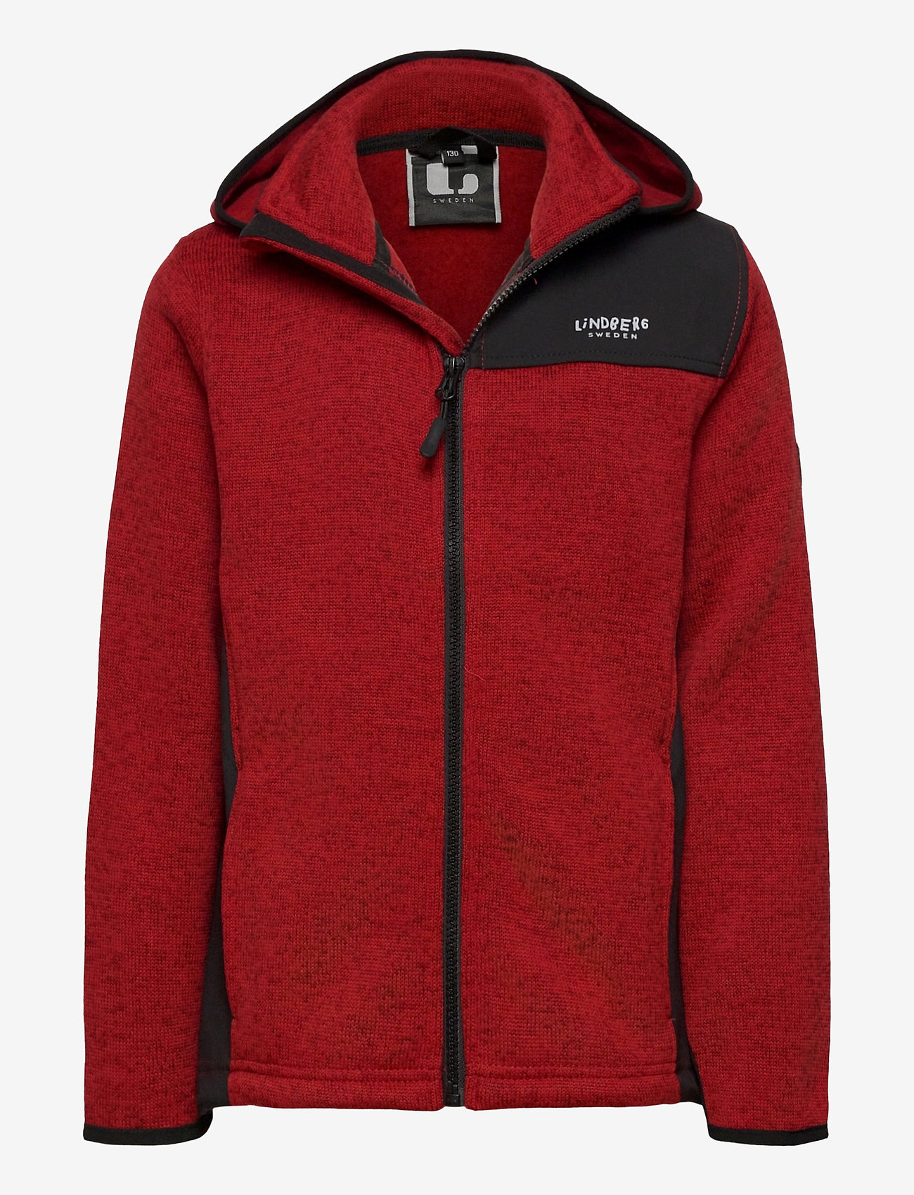 Lindberg Sweden - BORMIO JACKET - fleecetøj - red - 0