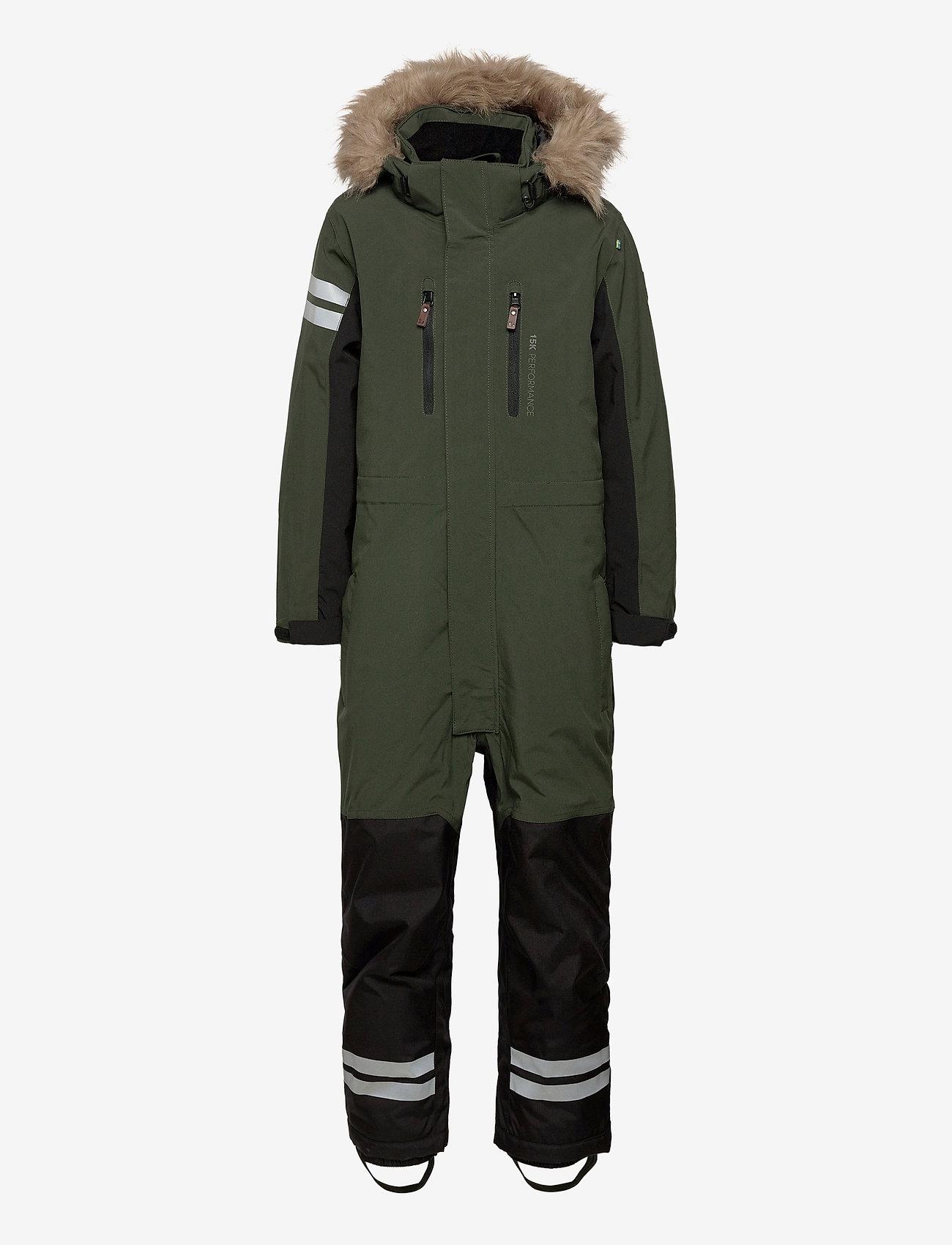 Lindberg Sweden - COLDEN OVERALL - snowsuit - green - 0