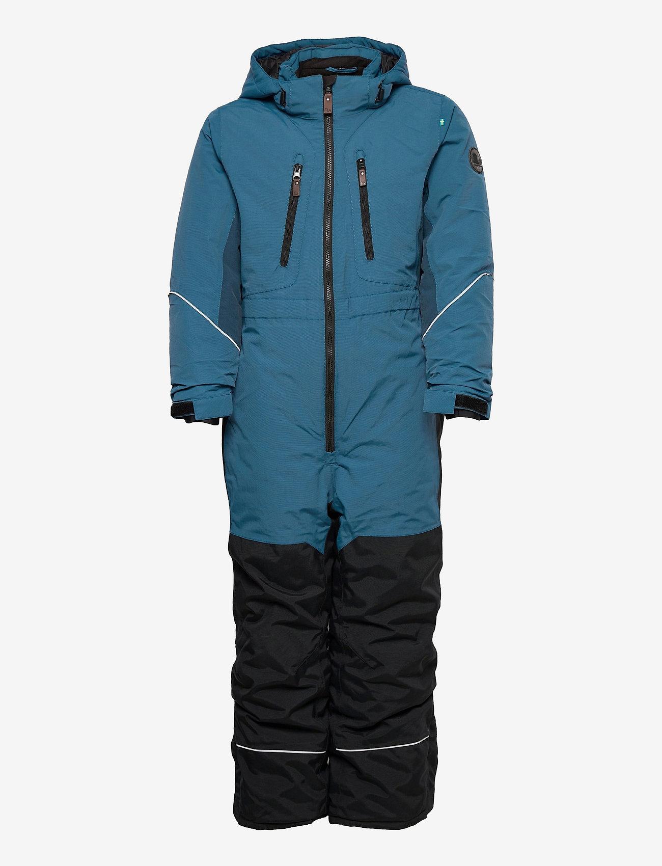 Lindberg Sweden - SNOWPEAK OVERALL - snowsuit - blue - 0