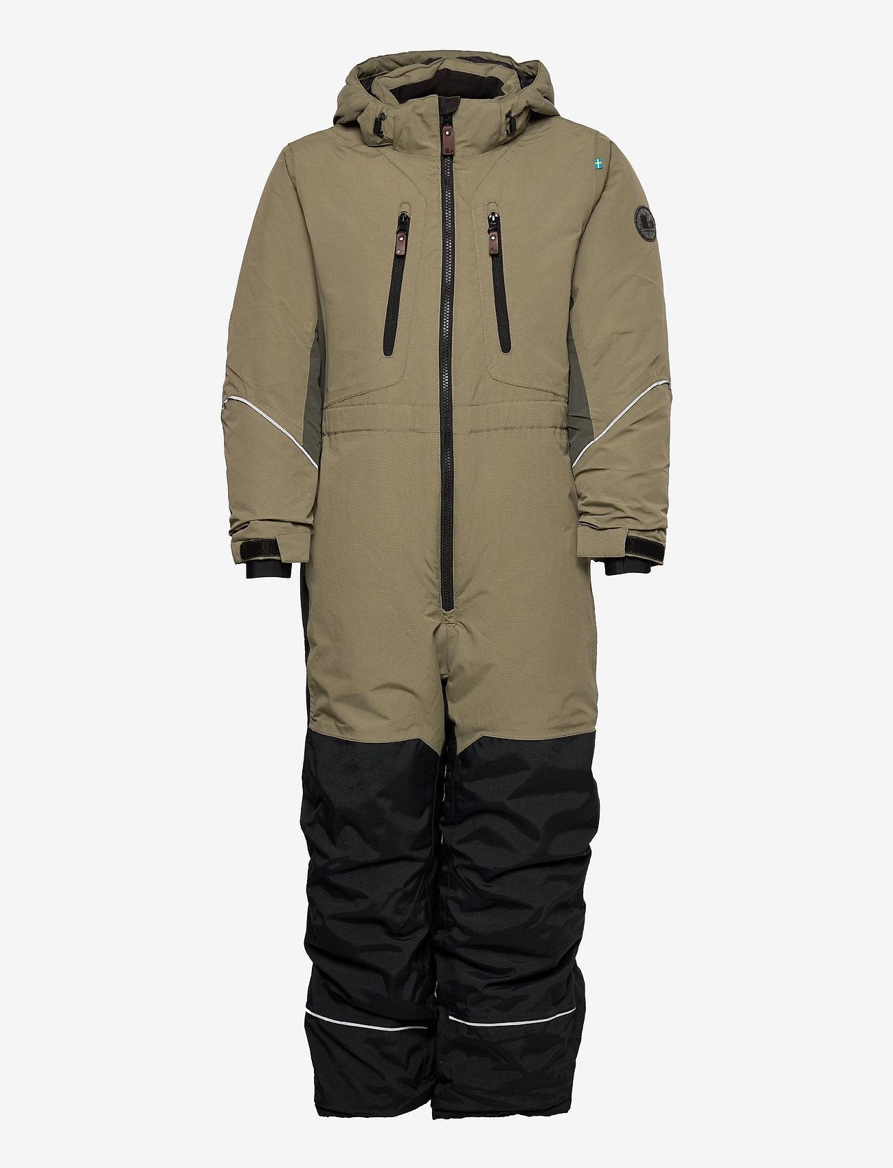 Lindberg Sweden - SNOWPEAK OVERALL - snowsuit - olive - 0