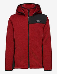 Lindberg Sweden - BORMIO JACKET - fleecetøj - red - 1