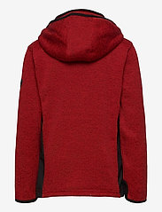 Lindberg Sweden - BORMIO JACKET - fleecetøj - red - 2