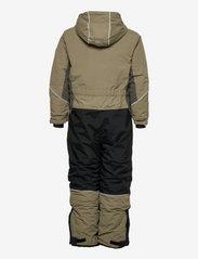 Lindberg Sweden - SNOWPEAK OVERALL - snowsuit - olive - 1