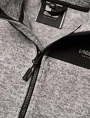 Lindberg Sweden - BORMIO JACKET - fleecetøj - greymelange - 5