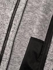 Lindberg Sweden - BORMIO JACKET - fleecetøj - greymelange - 7