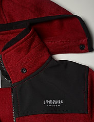 Lindberg Sweden - BORMIO JACKET - fleecetøj - red - 6
