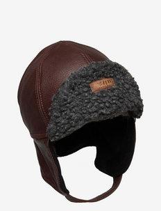 ISLAND HAT - mützen - dark brown