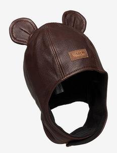 MUSSE HAT - winter hats - dark brown