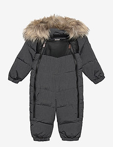 ROCKY BABY OVERALL - snowsuit - anthracite