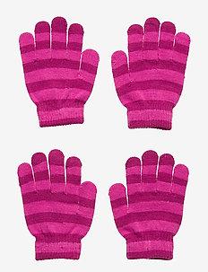 FJUGESTA GLOVE 2P - gloves - cerise