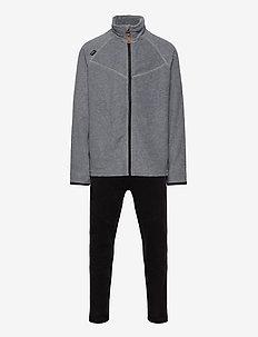 UMEÅ FLEECE SET - fleece sets - greymelange/black