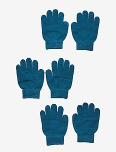 ÅSBRO GLOVE, 3-PACK - PETROLEUM