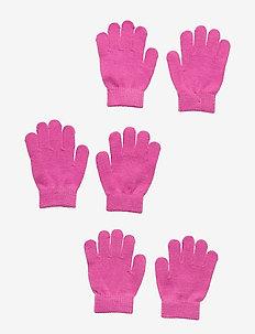 ÅSBRO GLOVE, 3-PACK - gloves - pink