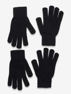 KNIPA MAGIC GLOVE, 2-P - handschuhe - black