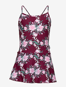 FLORENCE SWIMSUIT - swimsuits - burgundy