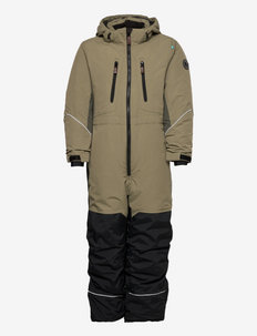 SNOWPEAK OVERALL - snowsuit - olive