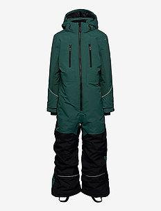 SNOWPEAK OVERALL - snowsuit - pine green