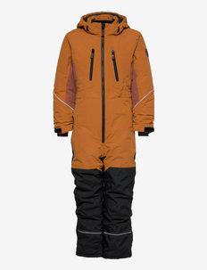 SNOWPEAK OVERALL - snowsuit - sudan brown