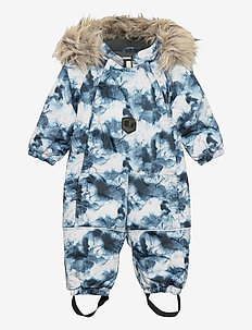 FROSTY BABY OVERALL - vintertøj - navy