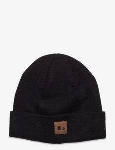 KISA HAT - woll-kleidung - black