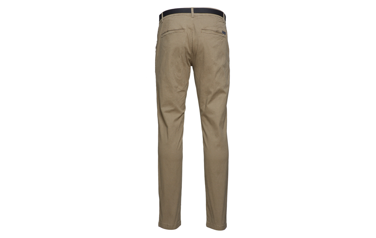 Silver Aop Chinos With Lindbergh Belt AOBITwOq