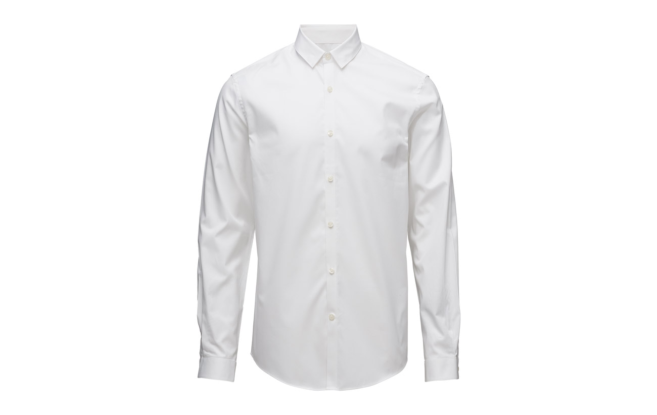 Lindbergh Plain Stretch Twill Shirtl Black s Chemises w6SxwZdqr