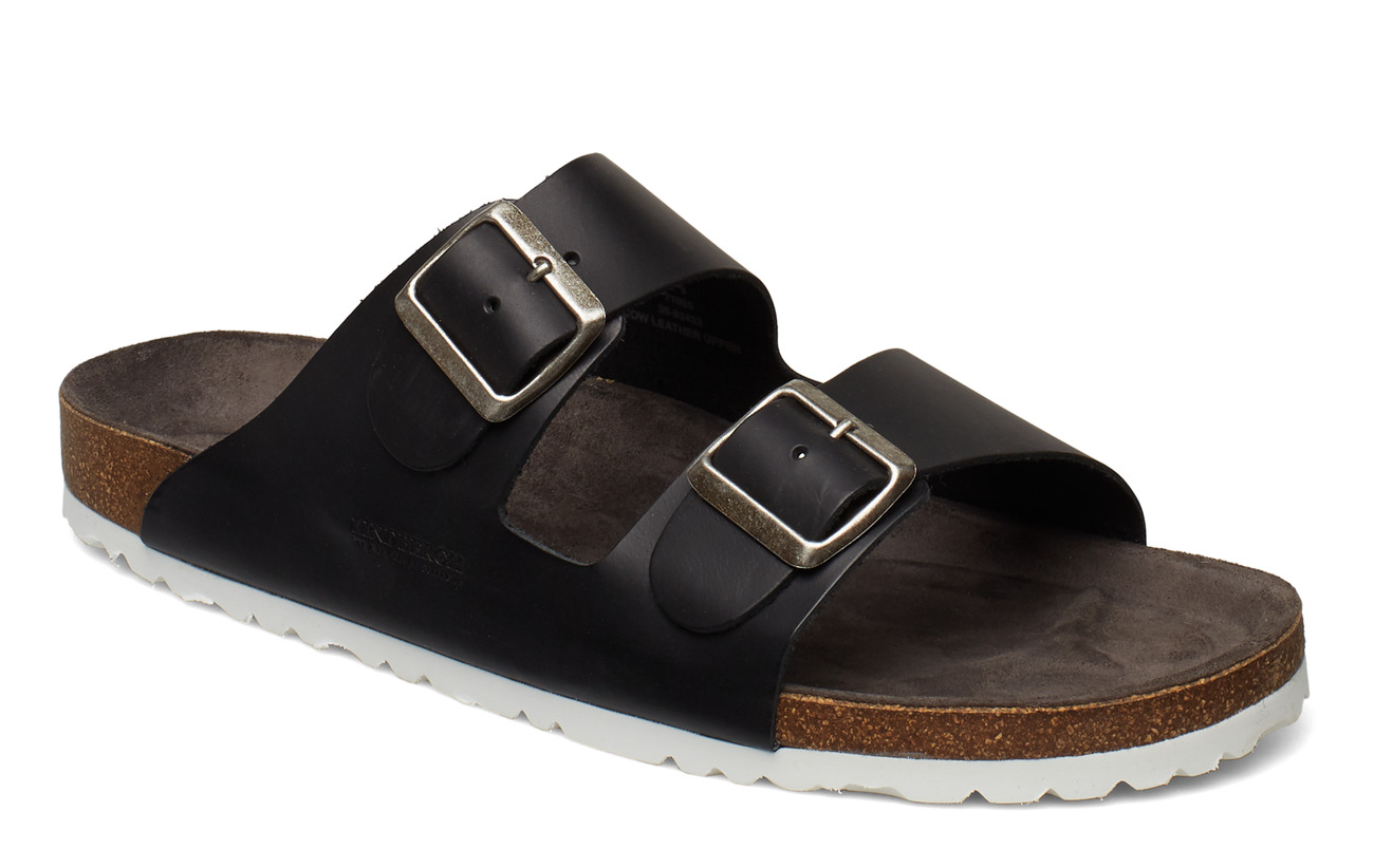 Lindbergh Leather sandal - BLACK