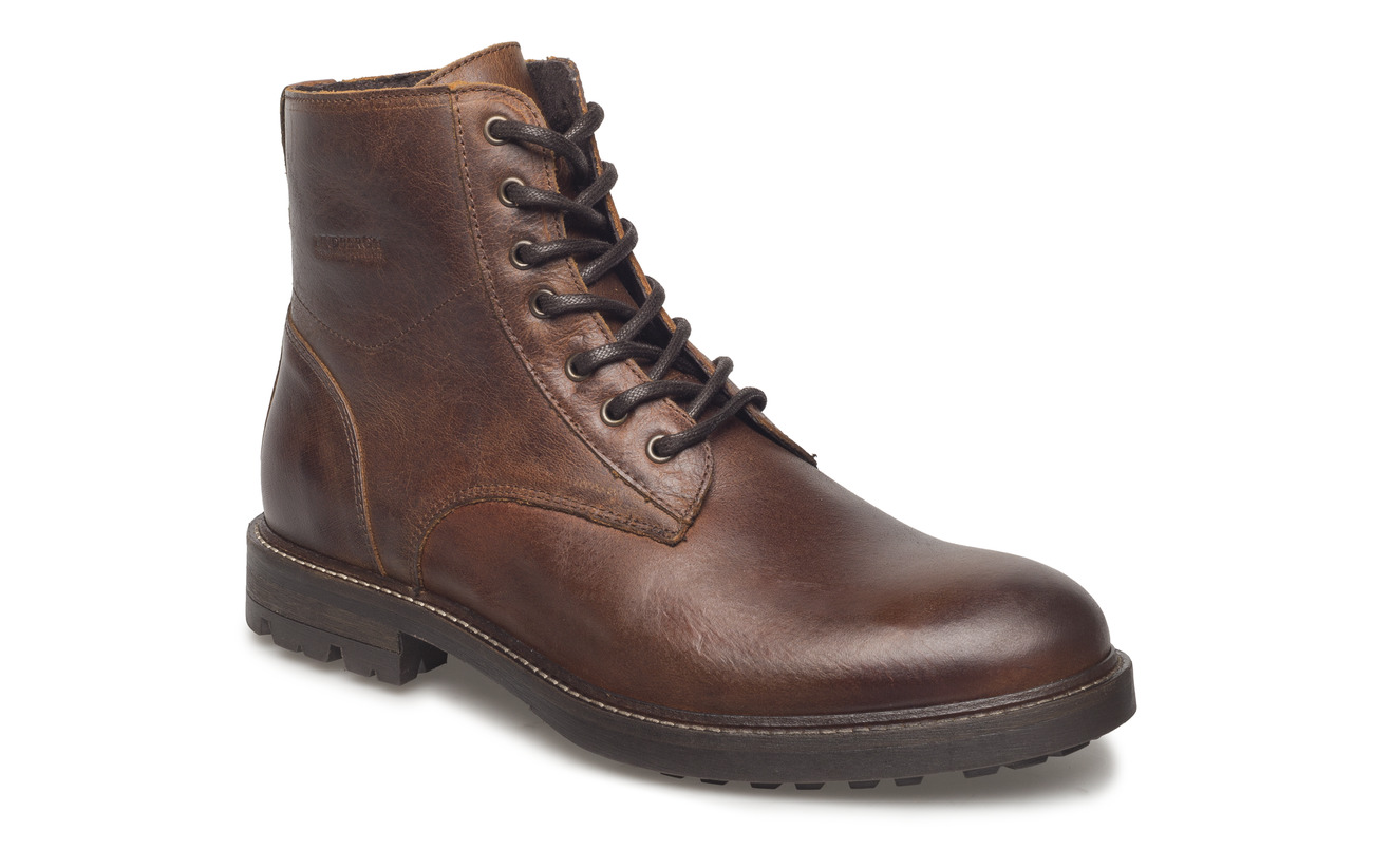 Lindbergh High boot with lining - BROWN