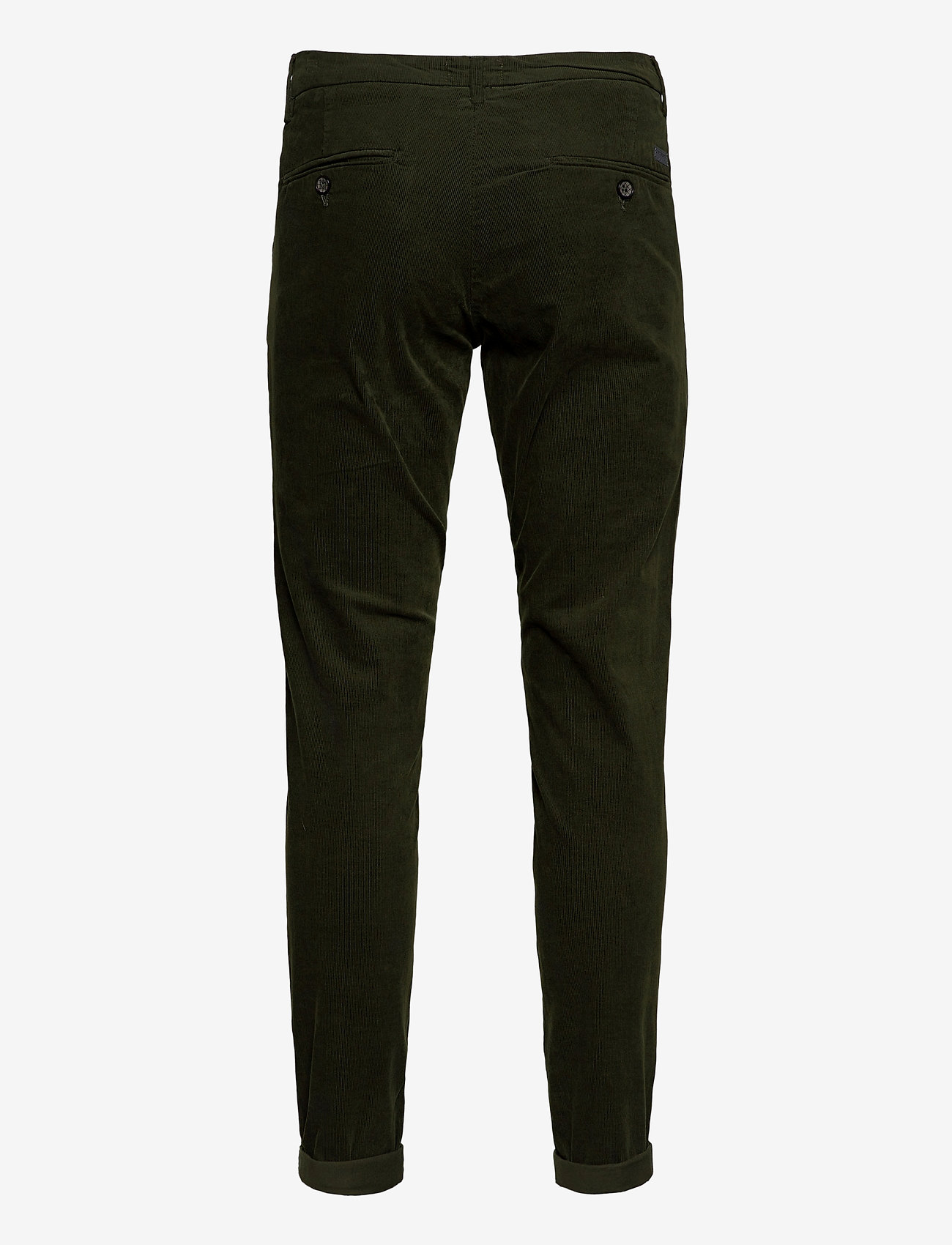 Lindbergh - Corduroy slim fit pants - rennot - army - 1