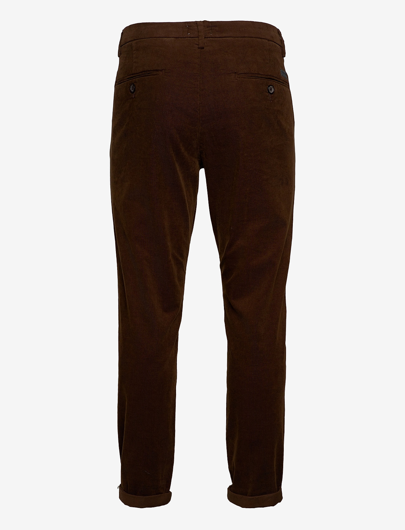 Lindbergh - Corduroy slim fit pants - rennot - brown - 1