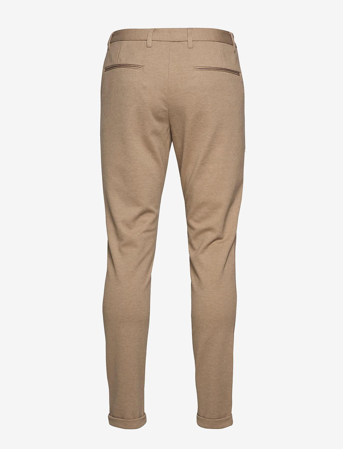 Lindbergh - Knitted pants normal length - spodnie na co dzień - lt sand mix - 1