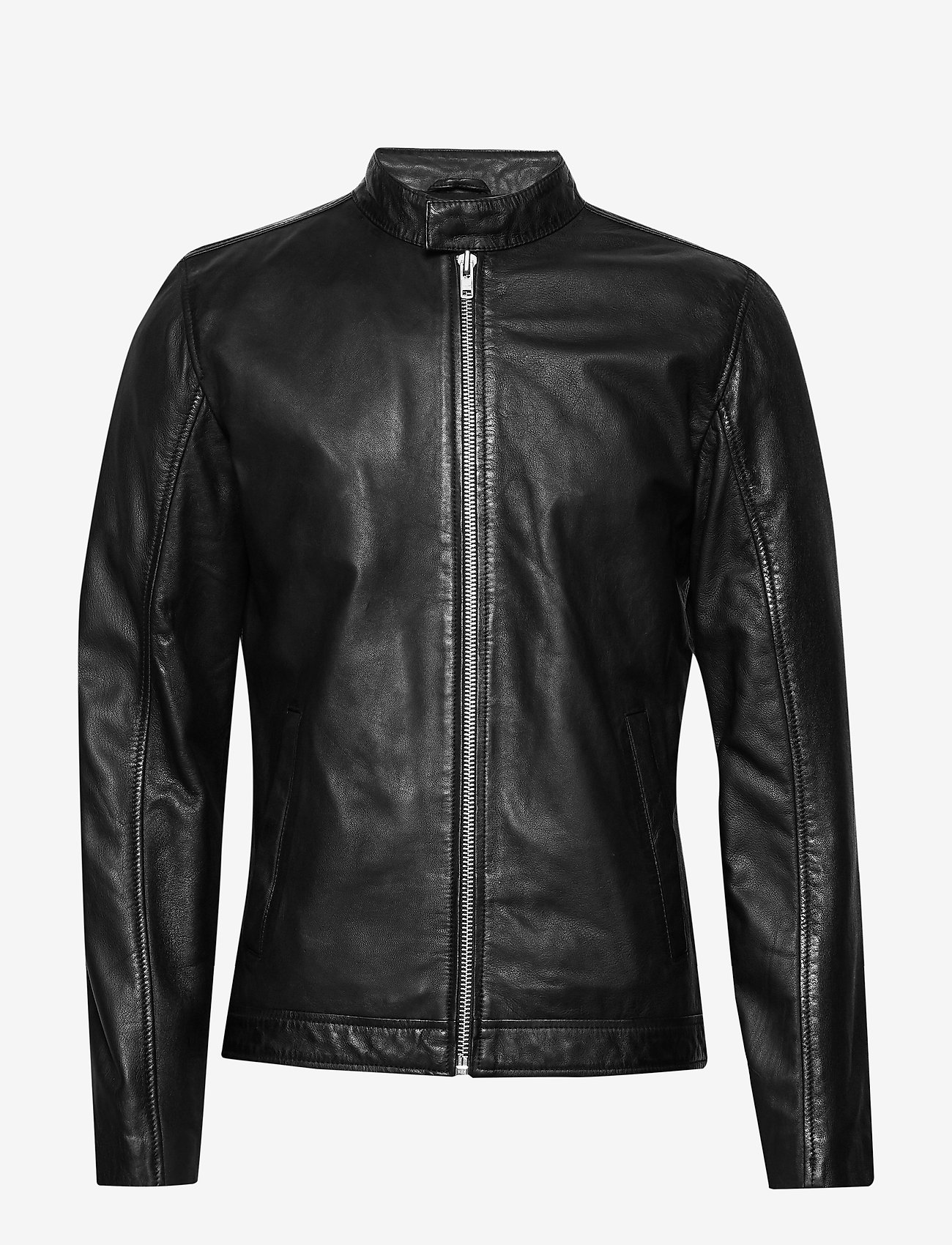 Lindbergh - Leather jacket - nahkatakit - black - 1