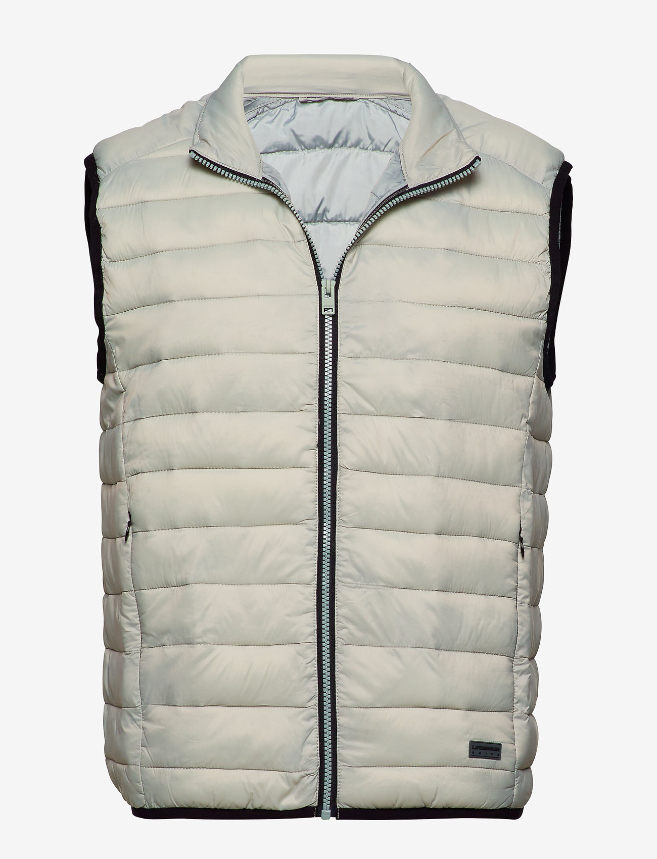 Lindbergh - Light puffer gilet - liivit - lt grey