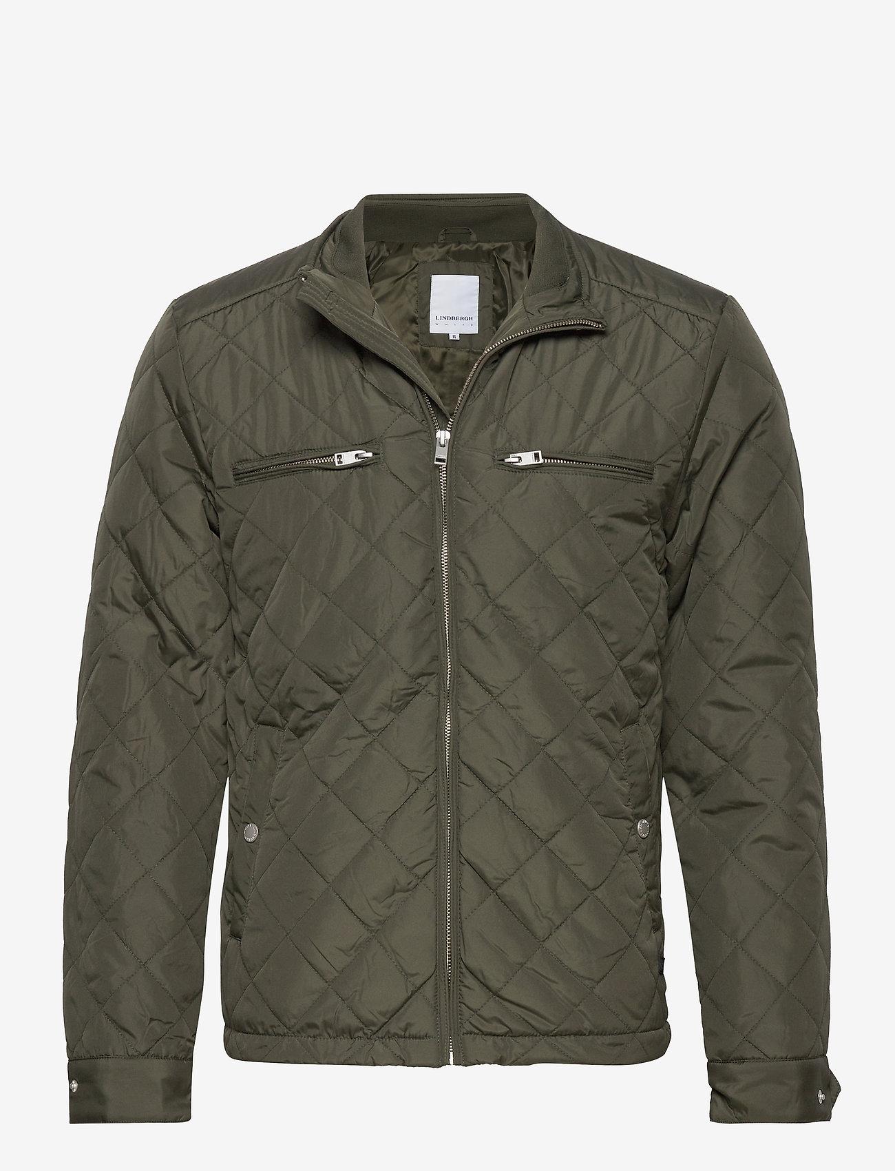 Lindbergh Quilted jacket - Jakker og frakker ARMY - Menn Klær