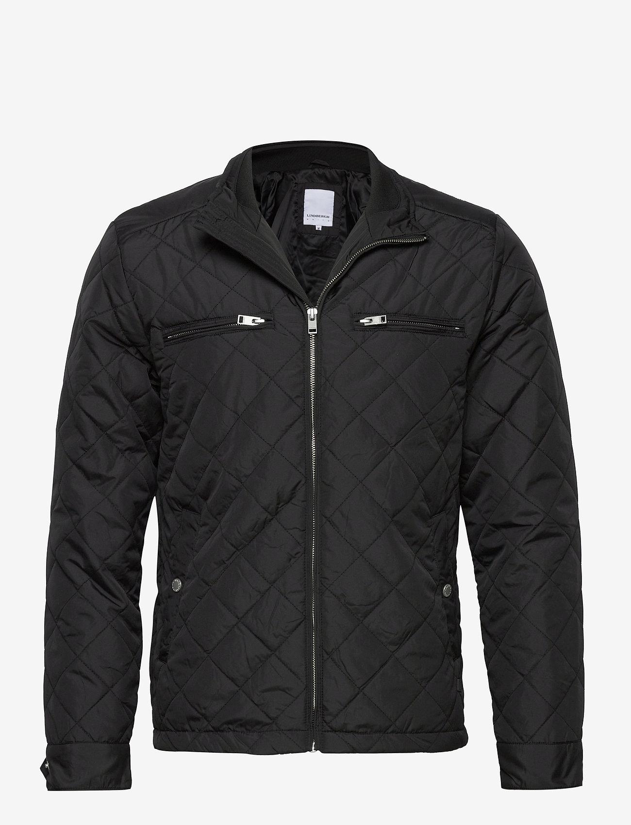 Lindbergh Quilted jacket - Jakker og frakker BLACK - Menn Klær