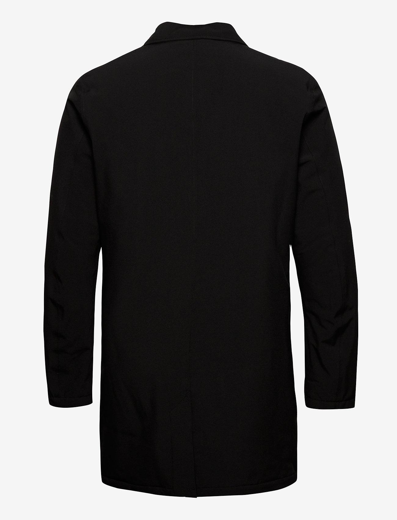 Lindbergh - Technical mac coat - kevyet päällystakit - black - 1