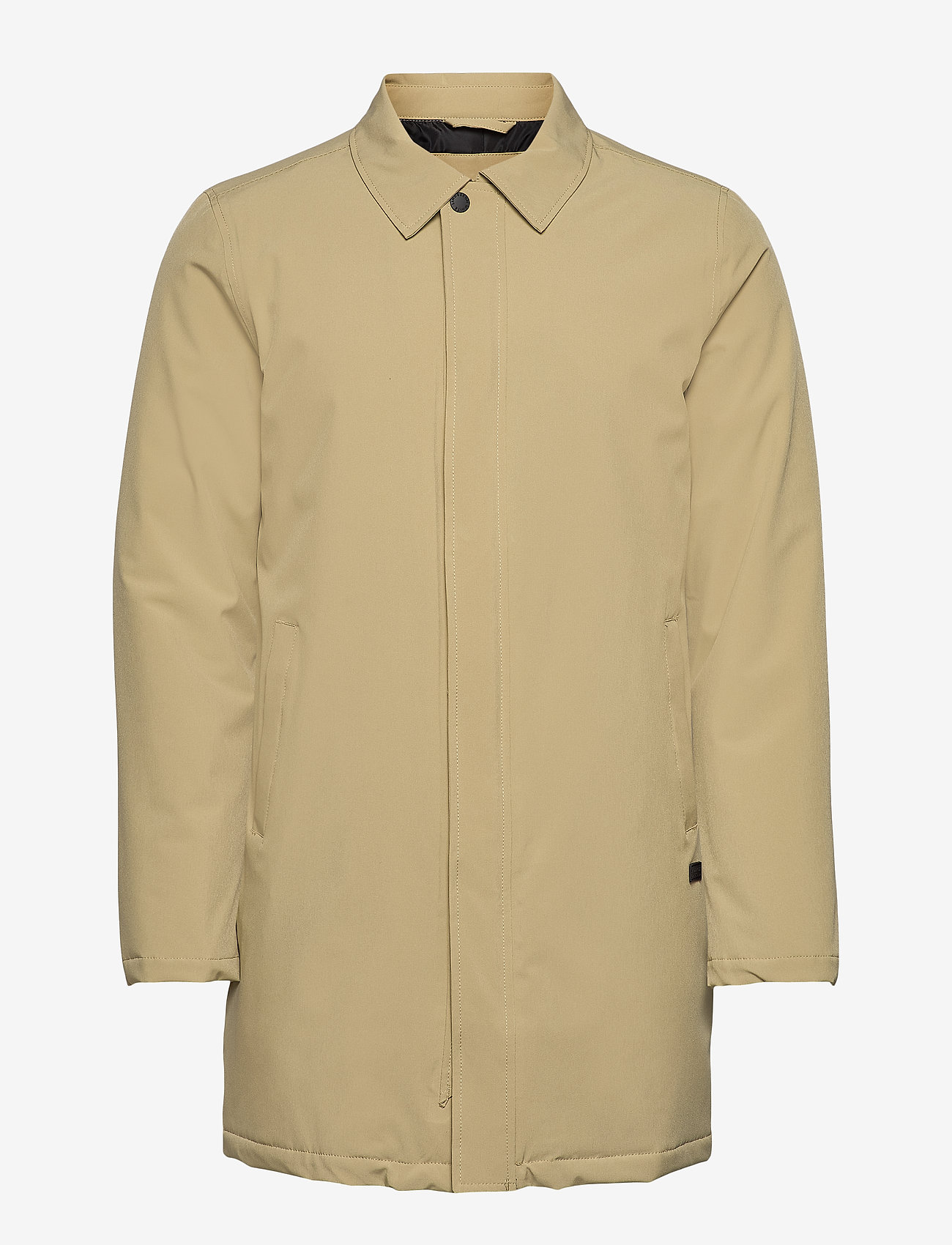 Lindbergh - Technical mac coat - kevyet päällystakit - sand - 0
