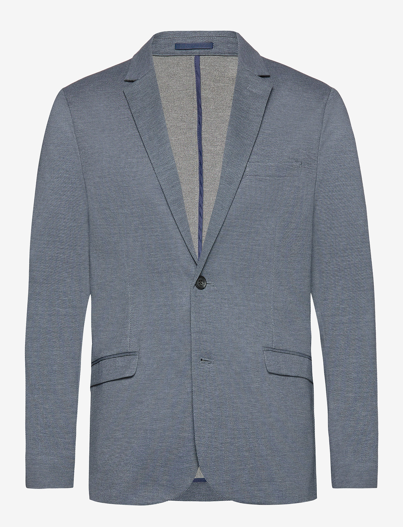 Lindbergh - Knitted blazer - yksiriviset bleiserit - grey mix - 0