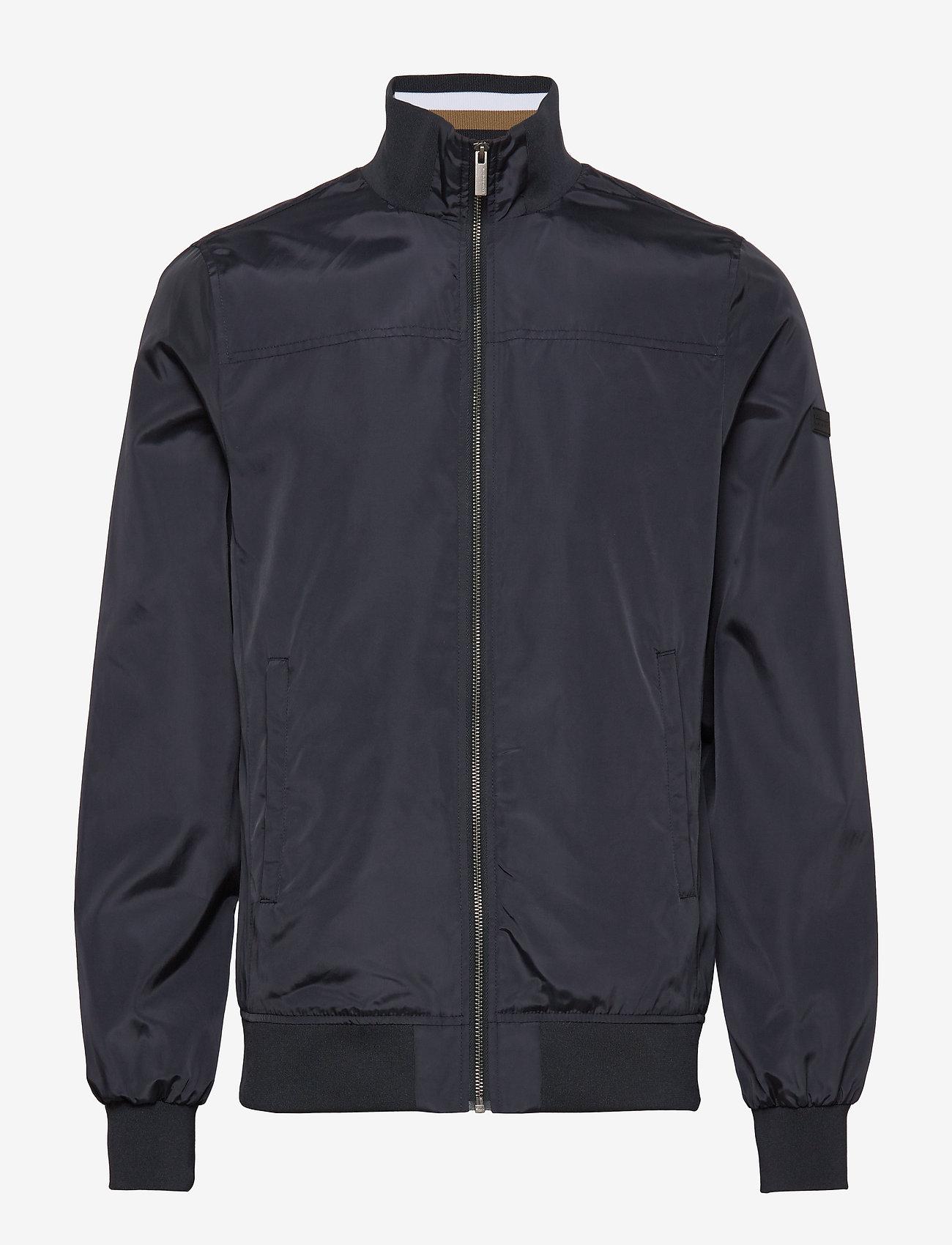 Lindbergh - Soft nylon jacket - kevyet takit - navy - 1