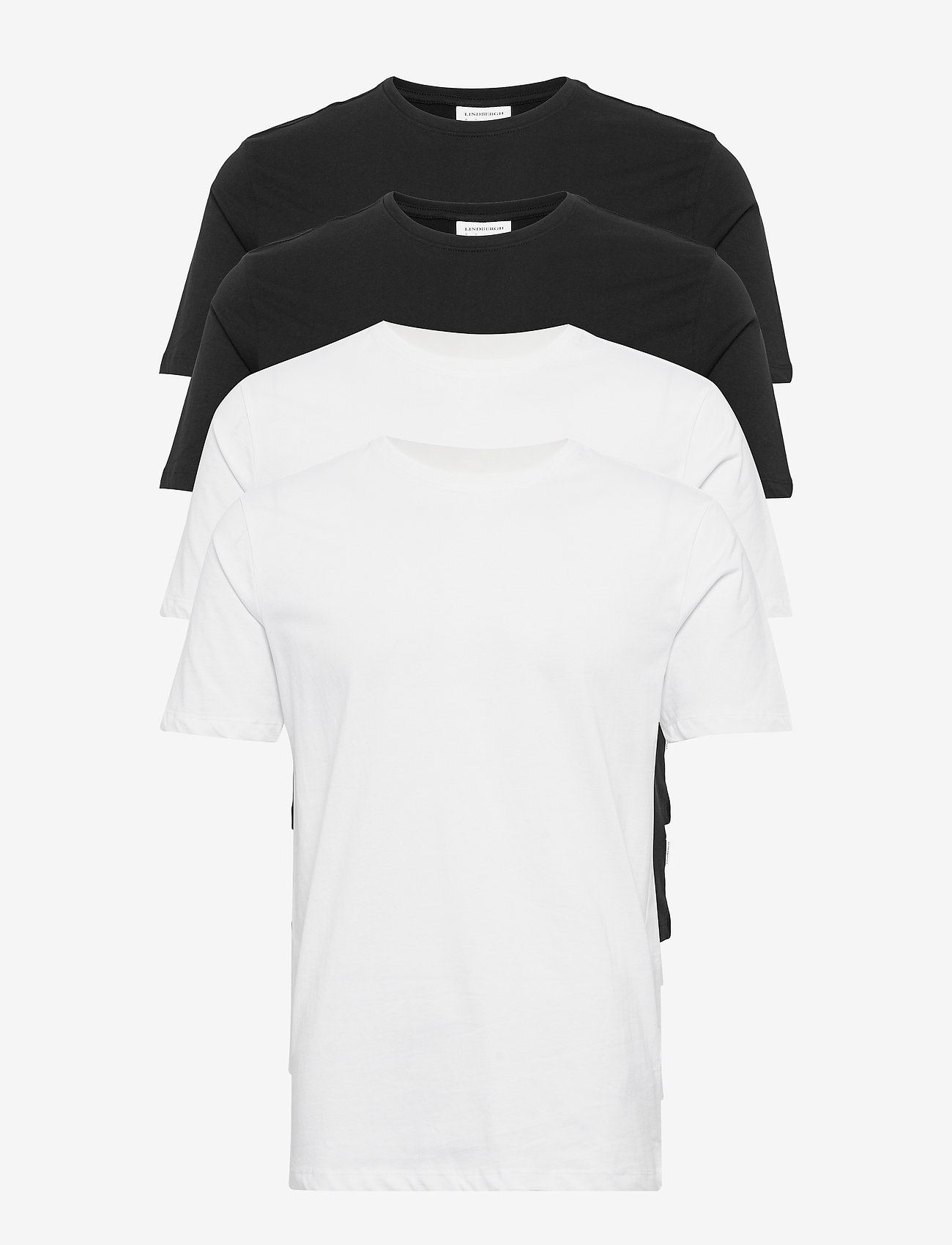 Lindbergh - Basic tee S/S - multipack - bl/wh