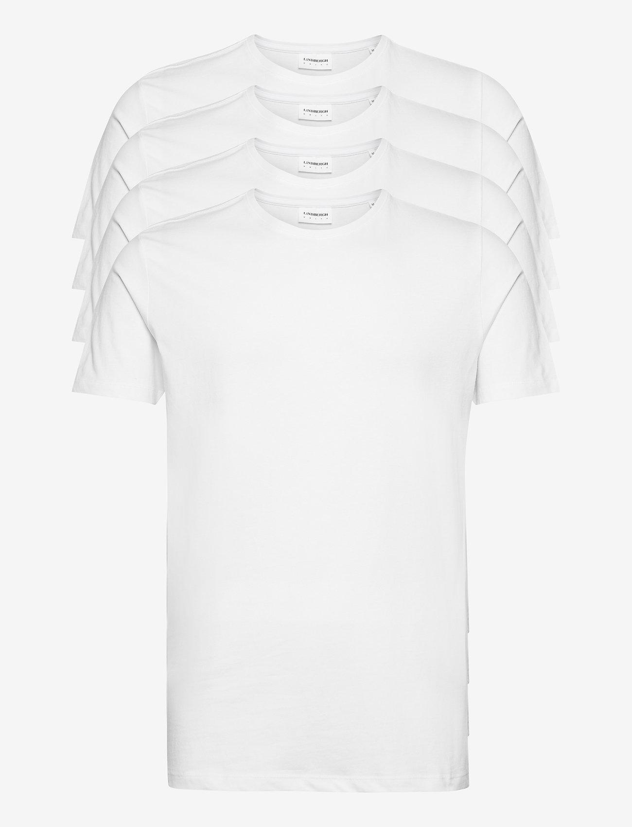 Lindbergh - Basic tee S/S - multipack - white - 0