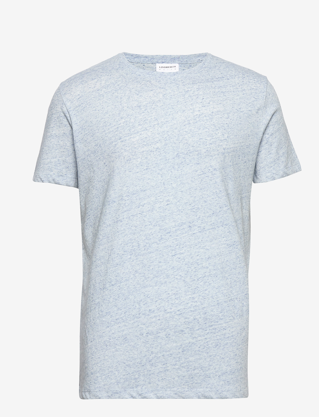 Lindbergh - Neps structure tee S/S - lyhythihaiset - lt blue - 1