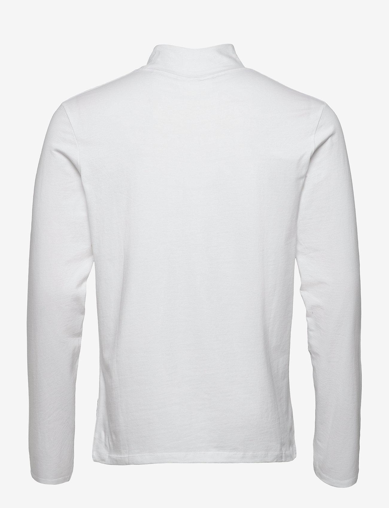 Lindbergh Turtle neck tee L/S - T-skjorter WHITE - Menn Klær