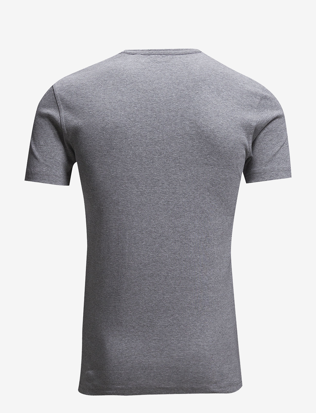 Lindbergh - Basic t-shirt S/S - short-sleeved t-shirts - grey mel - 1