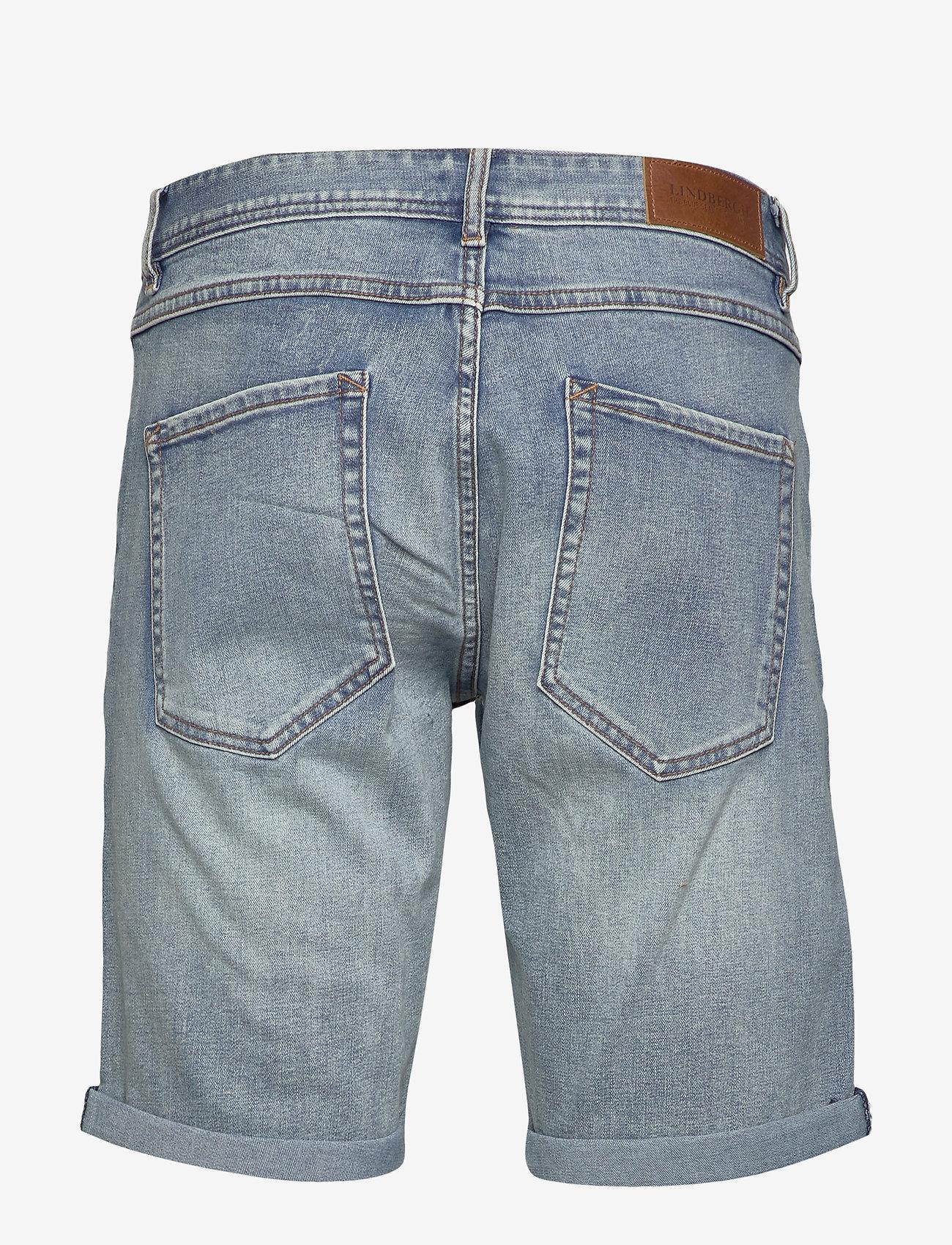 Lindbergh - Denim shorts superflex - denim shorts - fresh blue