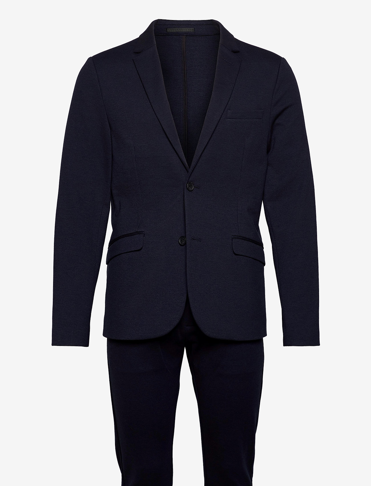 Lindbergh - Superflex suit - enkeltkneppede dresser - navy mix - 0