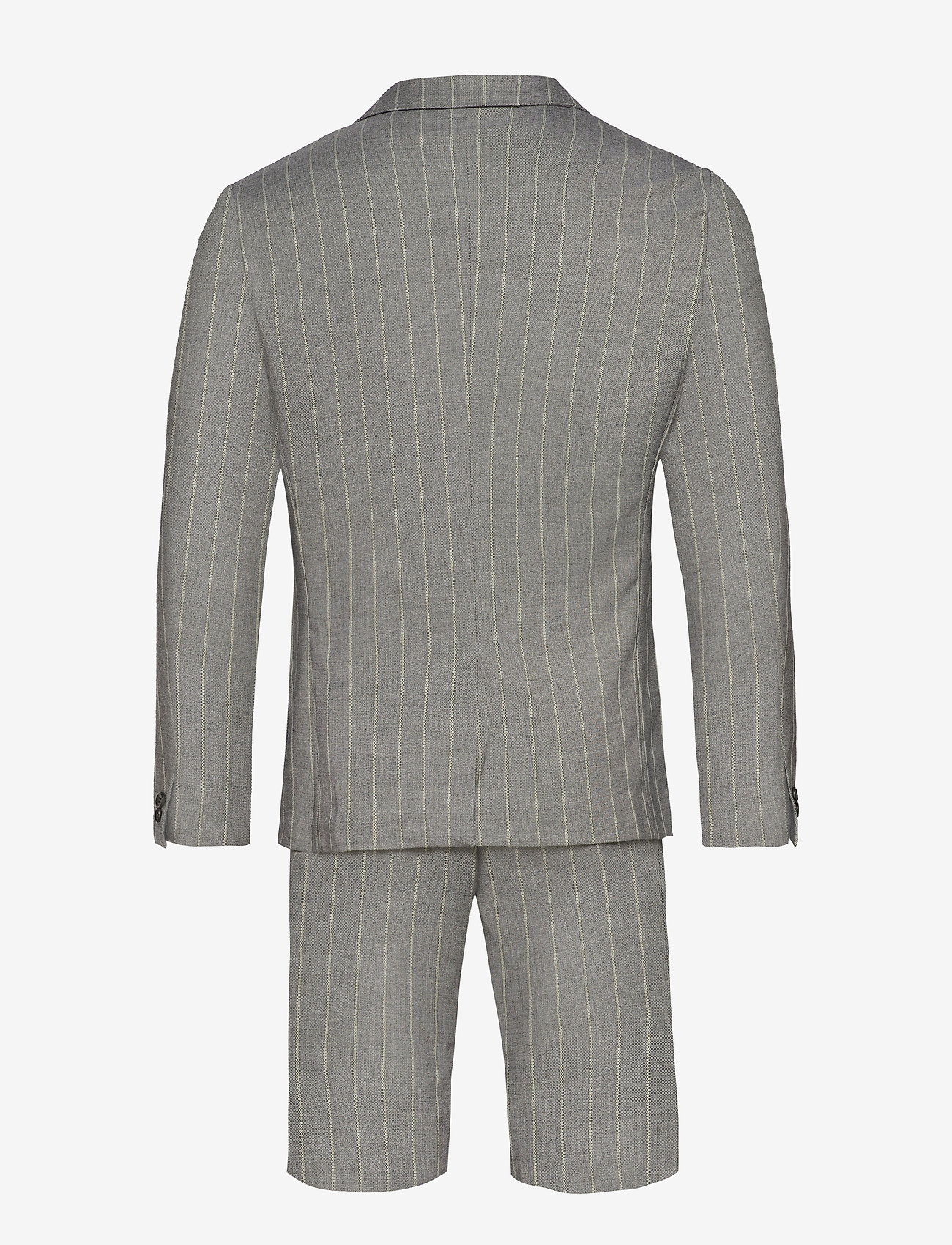 Lindbergh - Striped suit w/shorts - casual shorts - grey