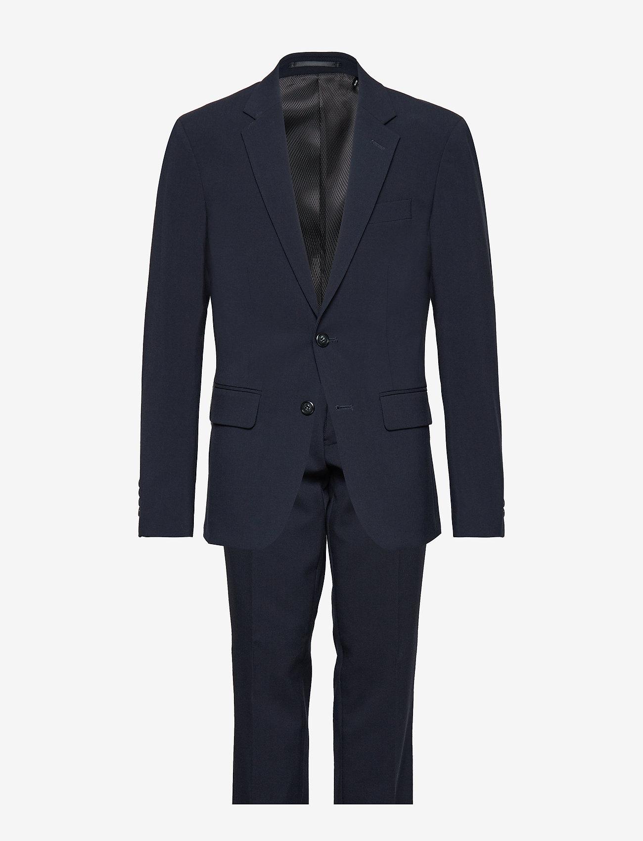 Lindbergh - Mens suit - kombinezony jednorzędowe - navy - 0