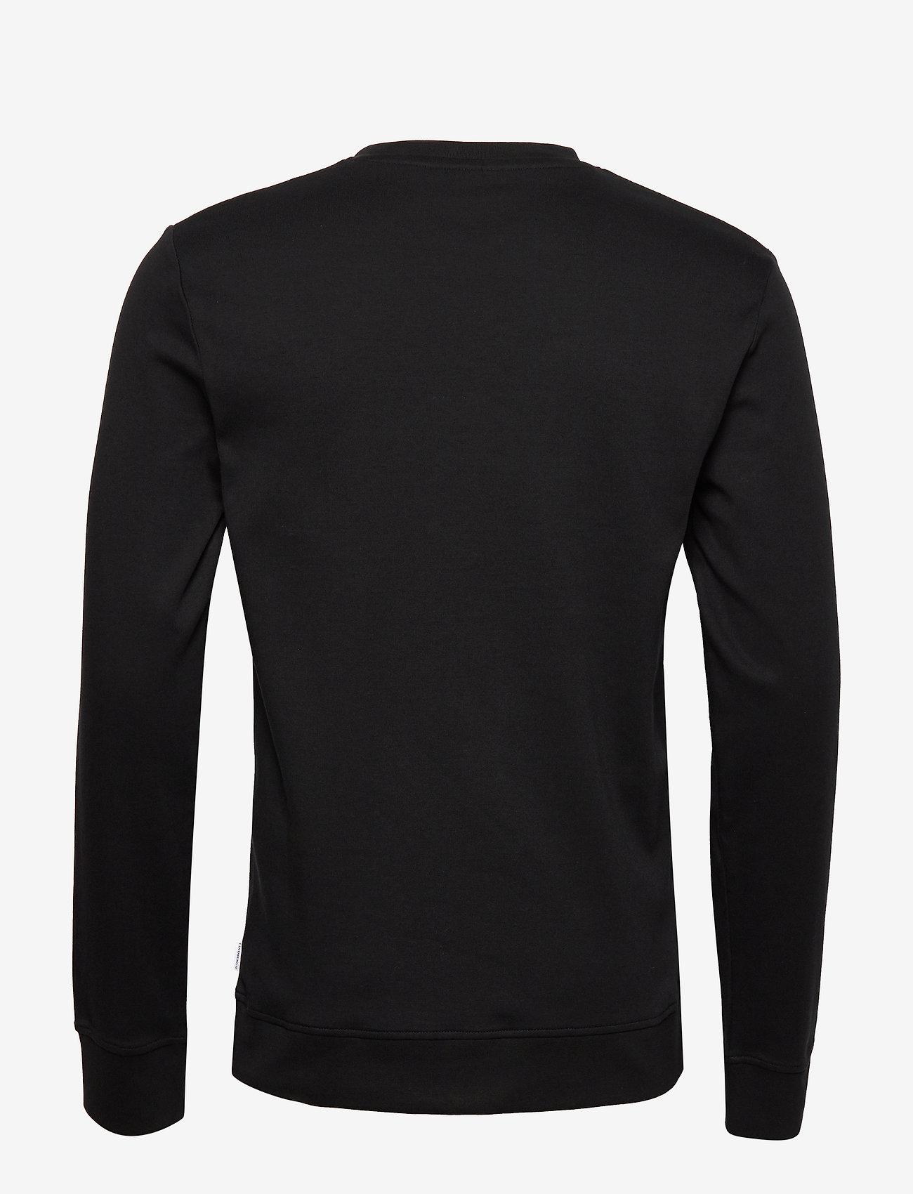 Lindbergh Logo Flock Print Sweatshirt - Sweats