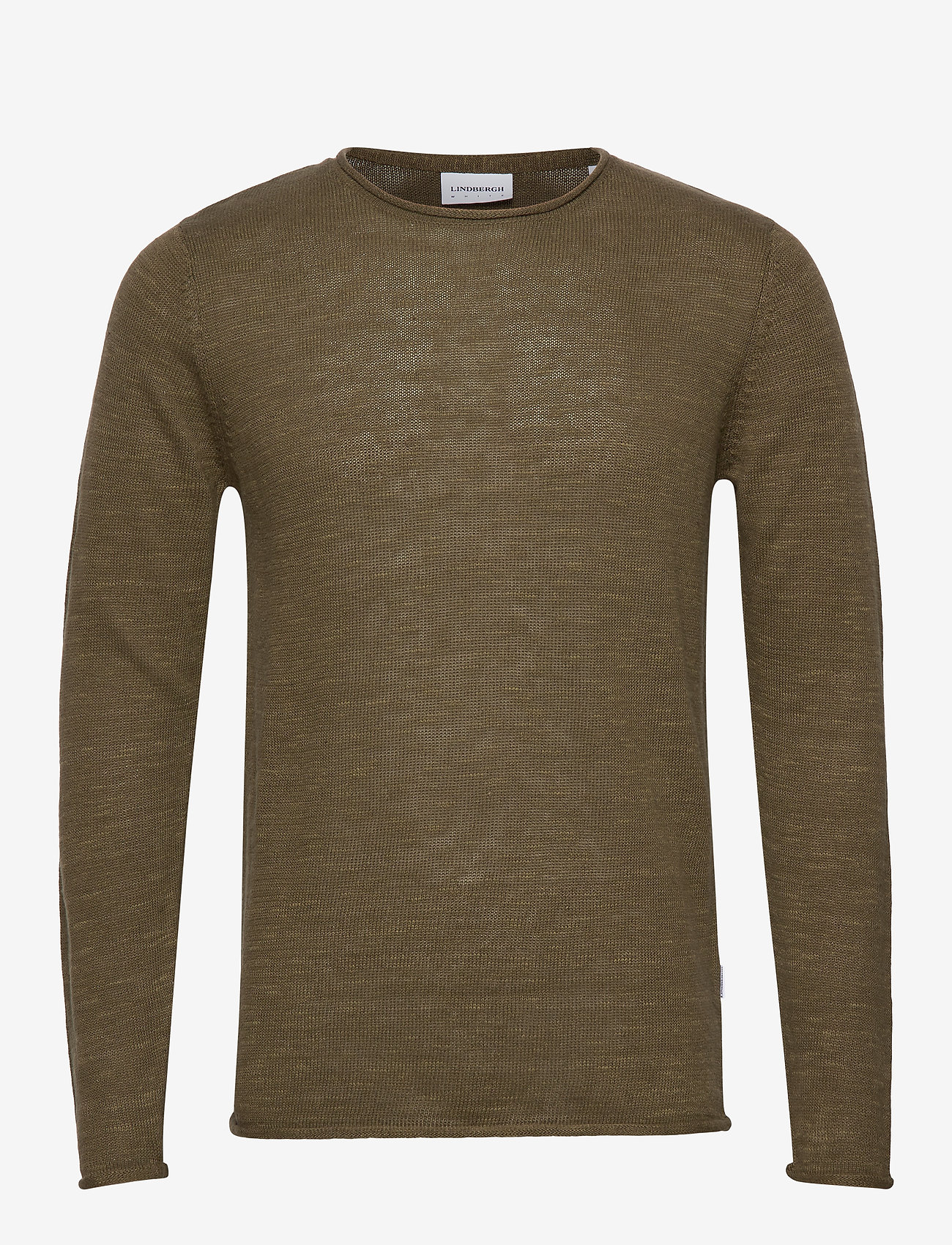 Lindbergh - Casual knit - basic knitwear - army mel